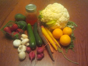 Our Farmer's Market Bounty!