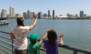 Saying goodbye to San Diego from the Coronado pier.
